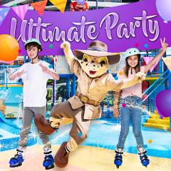 Ultimate Ice Skating and Water Park Party (min. 10 Kids)