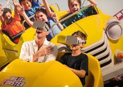 Virtual Reality Roller-Coaster ($) - Location: Lobby