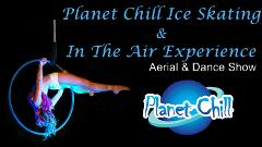 Ice-Skating with In the Air Experience - Aerial Show