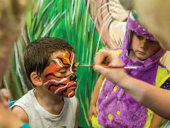Face Painting - Location: Outdoor Stage - (BNR)