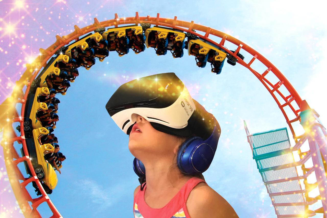 Virtual Reality Roller-Coaster ($) - Location: Lobby