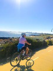Guided 1/2 Day Cycle Tour of Melbourne's Iconic Bayside Beaches including St Kilda, Elwood and Brighton Urban Villages