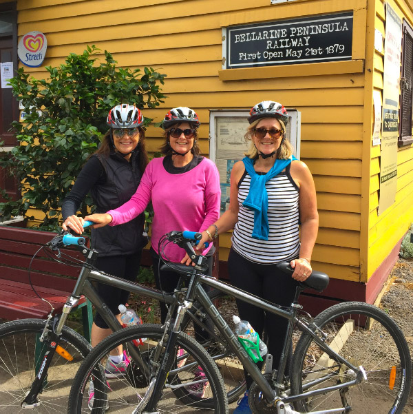 Self-Guided One Day Food and Wine Cycle Tour Queenscliff Bellarine Peninsula