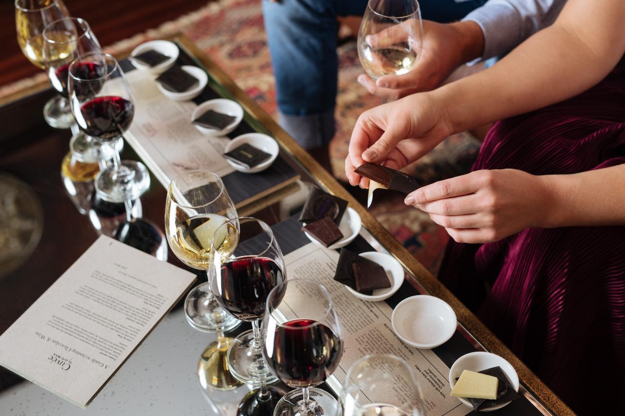 Chocolate & Wine Matching Experience