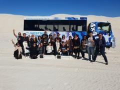 Adventurous full day Pinnacles and Lancelin sandboarding and 4WD experience group tour - every SUNDAY!