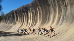 Araluen Botanic Park, Wave Rock, and York full day private tour