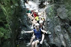 Arenal COMBO Tour: Canyoning + Ziplining