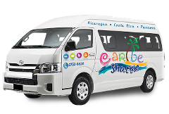 Arenal / La Fortuna to Puerto Viejo / Cahuita (Caribe Shuttle)