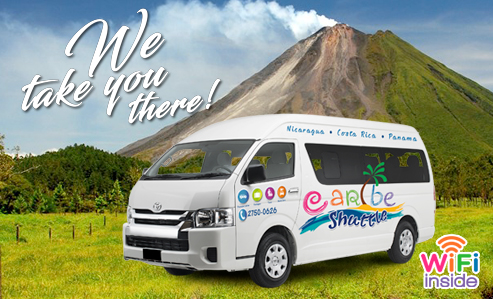 Bocas del Toro to Arenal / la Fortuna (Caribe Shuttle, Boat & Breakfast)