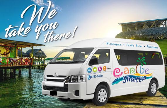 Puerto Viejo / Cahuita to Bocas Del Toro (Caribe Shuttle and Boat)