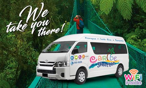 Liberia to Monteverde (Caribe Shuttle)