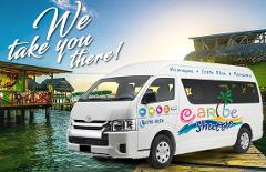 San José to Bocas Del Toro (Caribe Shuttle, Boat & Lunch)