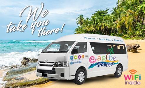 Puerto Viejo/Cahuita to San Juan del Sur (Caribe Shuttle Package)