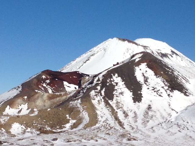 A Winter Track Safety Tongariro Alpine Crossing