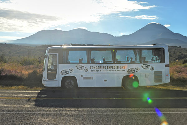 Tongariro Base Camp Return Shuttle