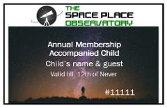 Annual Membership - Accompanied Child