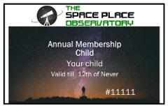 Annual Membership - Child