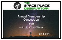 Annual Membership - Concession