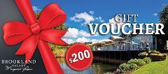 Brookland Valley $200 Gift Voucher