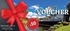 Brookland Valley $50 Gift Voucher