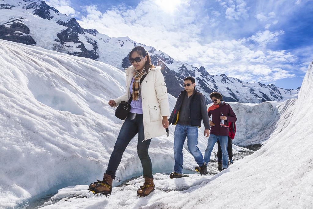 Glacier Helihike Tasman Glacier