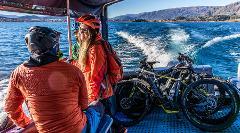 Boat & E-Bike Millennium Track: Boat in/Ride home