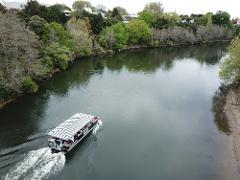60 Minute Return 'Floating Cafe' - Departing Hamilton Gardens