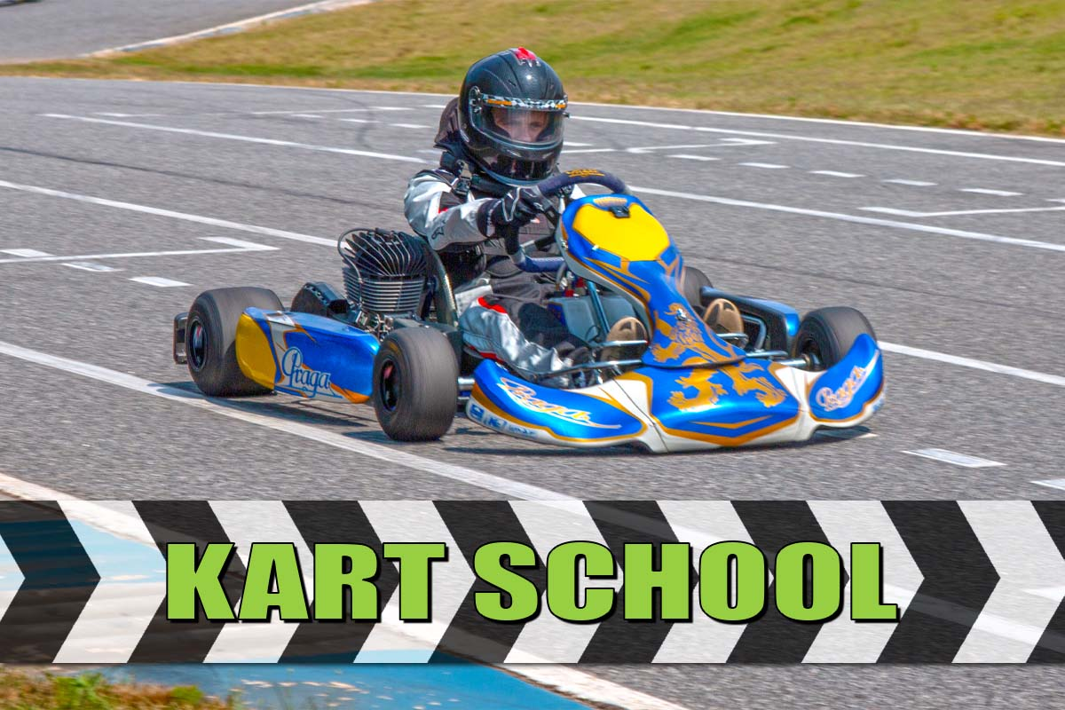 Kart Racing School Gift Card (Half Day)