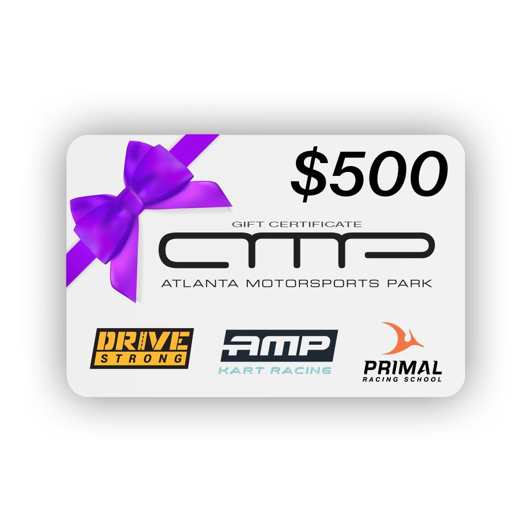 $500 AMP Gift Card