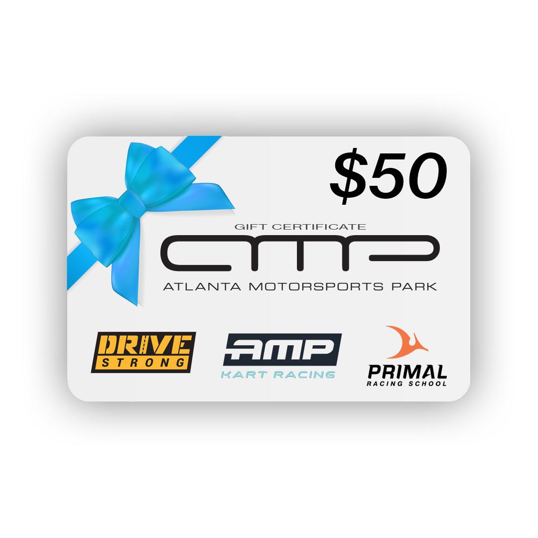 $50 AMP Gift Card