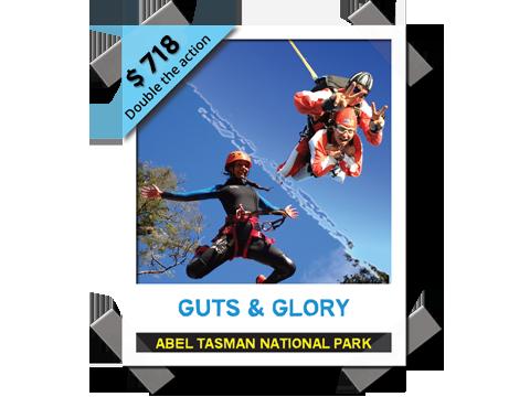 Guts & Glory - Canyon & Skydive