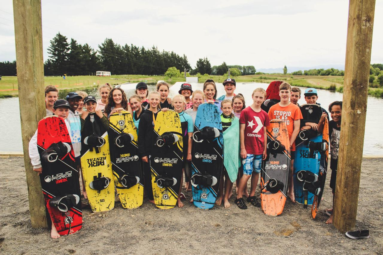 Group Cable Wakeboarding