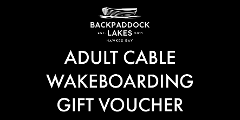 Adult Cable Wakeboarding Gift Voucher