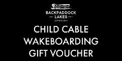 Child Cable Wakeboarding Gift Voucher