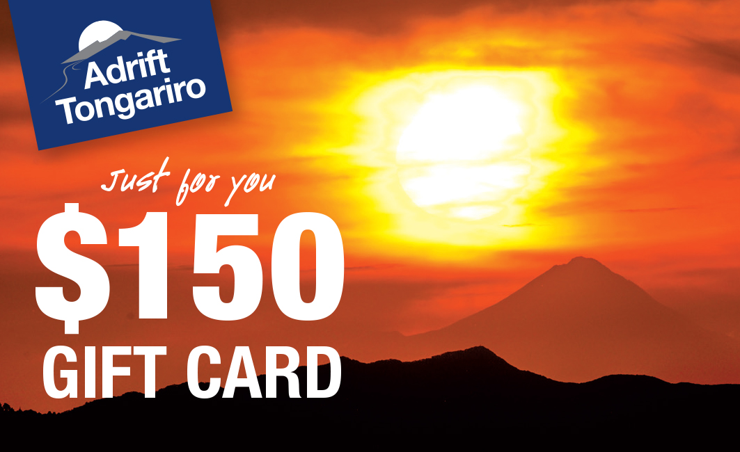 $150 Adrift Tongariro Gift Card