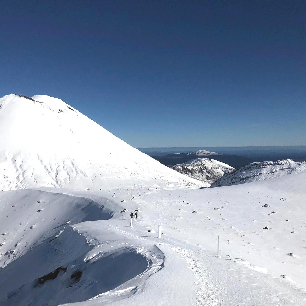 Tongariro Alpine Crossing Guided Walk - WINTER SPECIAL