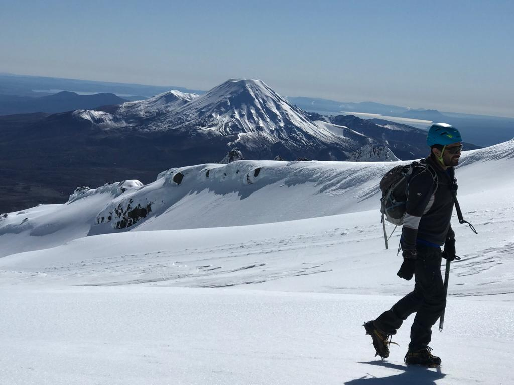 Mt Ruapehu Crater Lake Guided Hike - WINTER SPECIAL