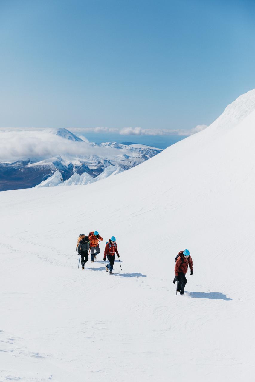 Save $50 - Guided Premium Tongariro Alpine Crossing + Mt Ruapehu Crater Lake Hike
