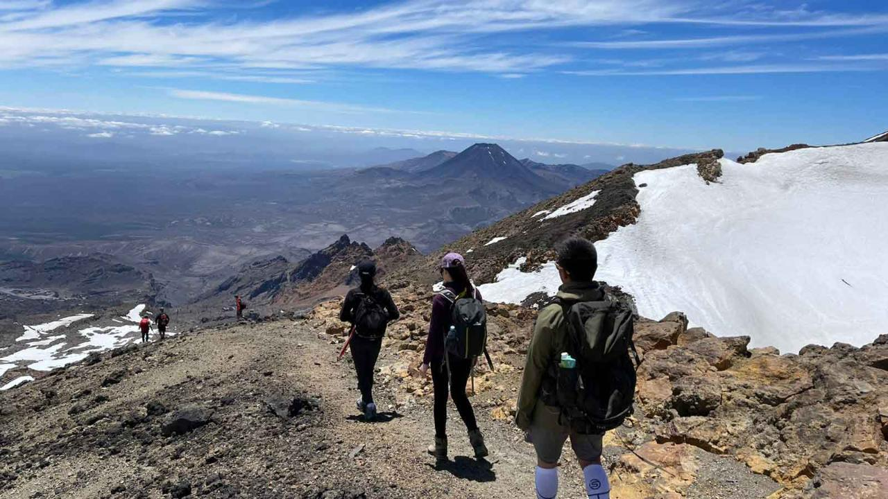 Mt Ruapehu Crater Lake Guided Hike - SUMMER SPECIAL