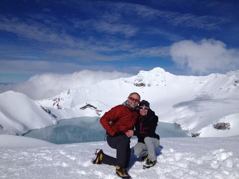 Mt Ruapehu Crater Lake Guided Walk