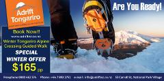 WINTER SPECIAL Tongariro Alpine Crossing Guided Hike -  Meet at Adrift shop National Park Village