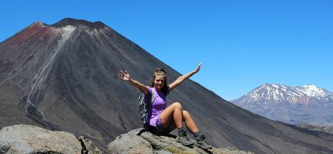 SUMMER SPECIAL. Premium Tongariro Alpine Crossing Guided Walk with $45pp return Taupo Transfers