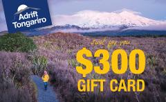 $300 Adrift Tongariro Gift Card