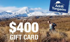 $400 Adrift Tongariro Gift Card