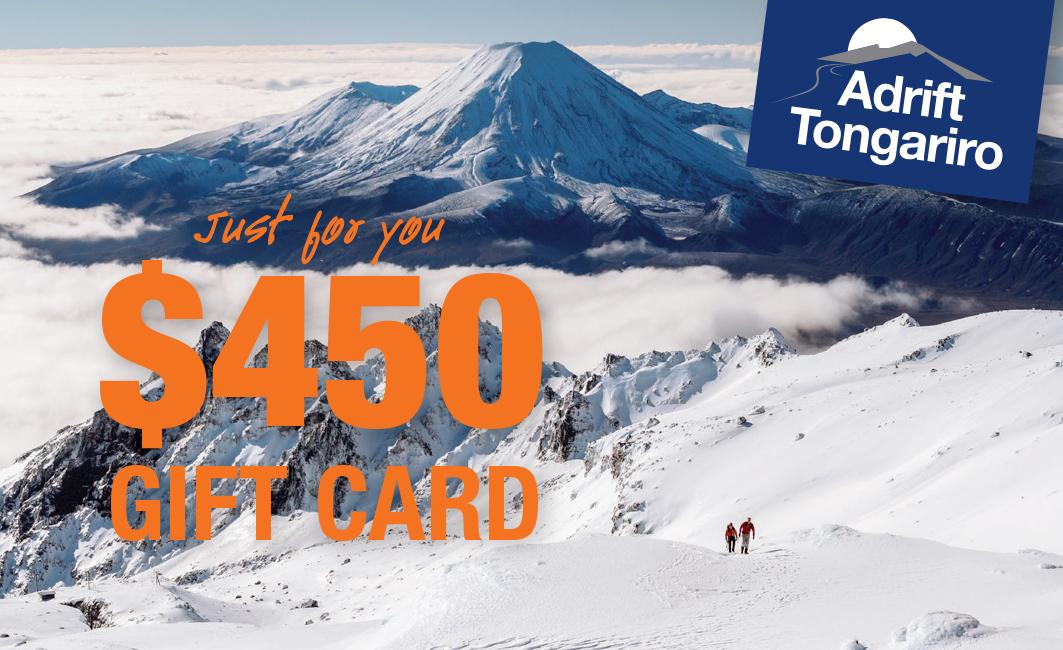 $450 Adrift Tongariro Gift Card