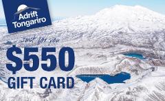 $550 Adrift Tongariro Gift Card
