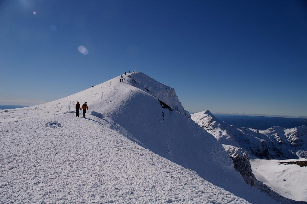 Winter Tongariro Alpine Crossing Guided Walk