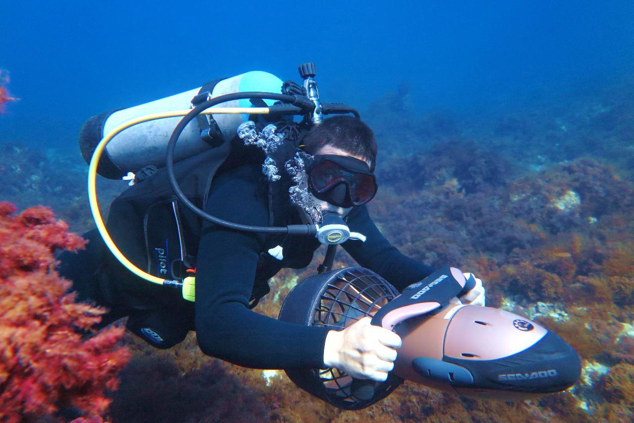 Diver Propulsion Vehicle (2 or more participants - 1 Dive)