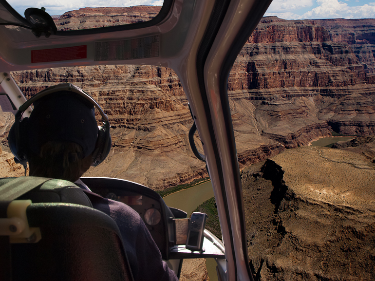 Grand Canyon Helicopter Express Flight