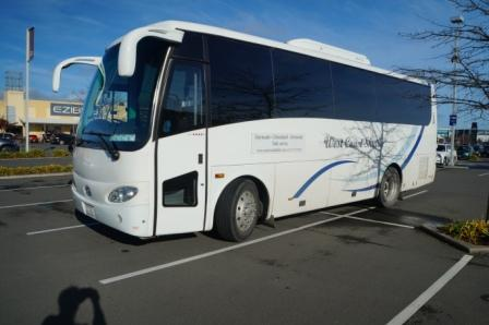 Non-refundable Greymouth to Christchurch (discounted RETURN fare)